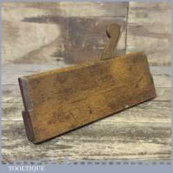 Scarce Beading Moulding Plane By Lourie Probably 18th Century
