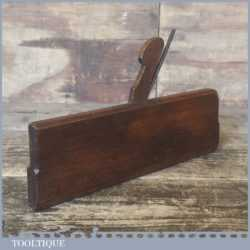 Antique 18th C Round Moulding Plane John Sym Of London - Good Condition