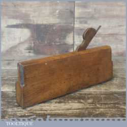 Antique 18th Century Ovolo Moulding Plane By Gabriel - Good Condition