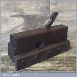 Antique 18th / 19th Century John Ames London Centre Reed Moulding Plane - Good Condition