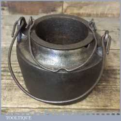 Vintage Cast Iron No: 4 Glue Pot - Good Condition