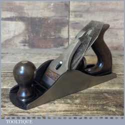 "Vintage Stanley England No: 4 ½"" Wide Bodied Smoothing Plane - Fully Refurbished"