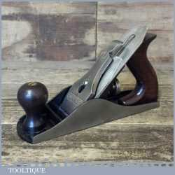 Vintage Low Knob Stanley USA No: 4 ½ Smoothing Plane PAT Dated 1910-18