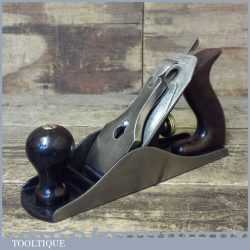 Vintage Stanley USA No: 4 Smoothing Plane PAT Dated 1910-18 - Fully Refurbished
